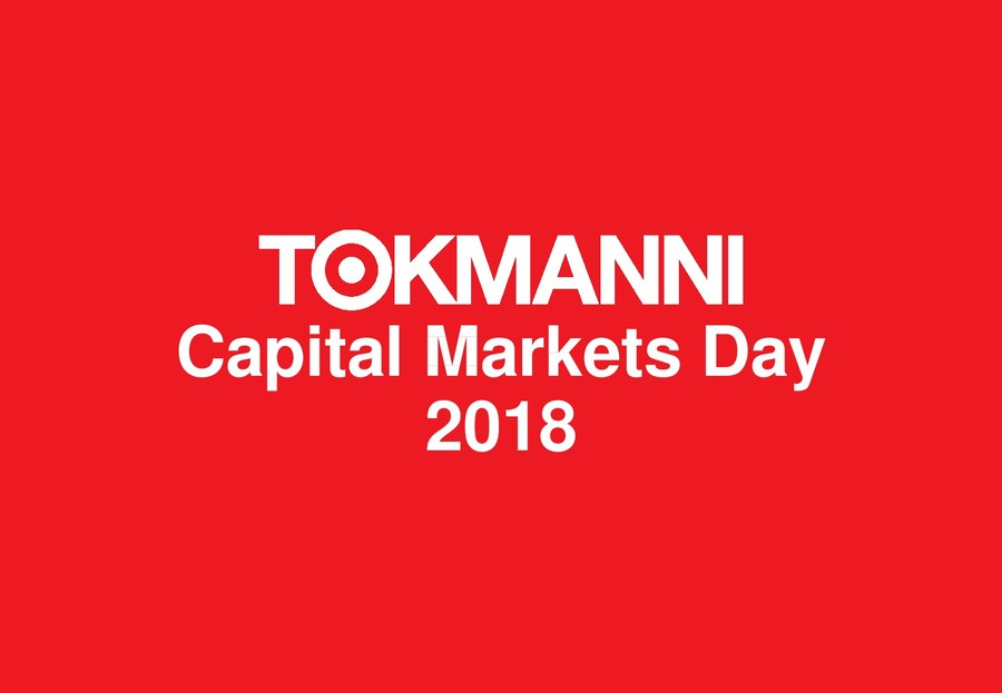 Tokmanni CMD 2018 On demand recording will be available 04.12.2018 ... 67c495816b